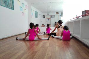 curso de ballet para niños